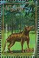 Stamp of Abkhazia - 1997 - Colnect 1000114 - Thylacinus cynocephalus.jpeg