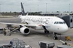 Star Alliance (BMI British Midland) Airbus A320-232 G-MIDS (21030708963).jpg