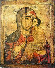 Icône de la Mère de Dieu de tendresse