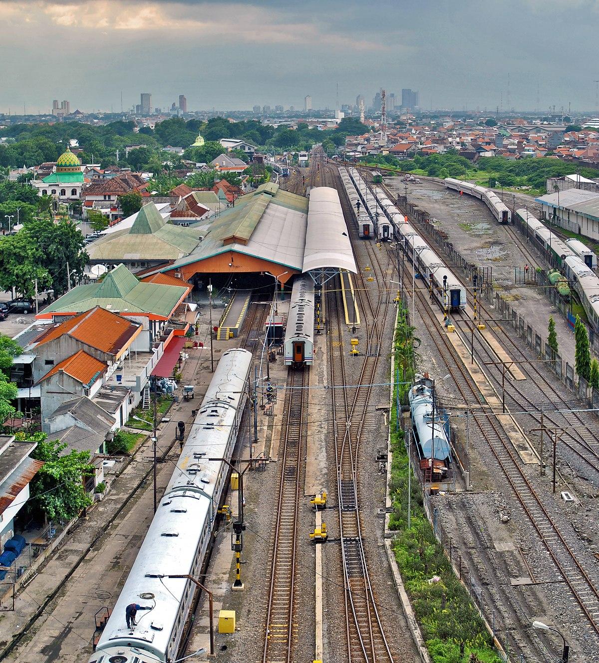 Stasiun Surabaya Pasarturi Wikipedia Bahasa Indonesia