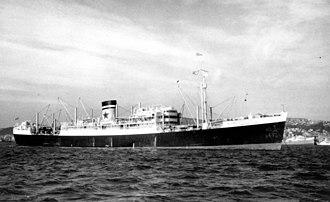MV Empire Star (1935) - Image: State Lib Qld 1 142699 Empire Star (ship)