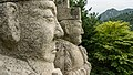 """Statue in front of the Tomb of King Wanggong with Mt. """"oh my"""" in the background (21126859354).jpg"""