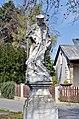 Statue of John of Nepomuk, Königstetten.jpg