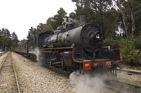 Steam engine 1072 at Zigzag railway at Lithgow, NSW.jpg