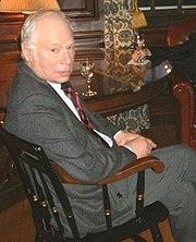 Steven Weinberg en la Universidad de Harvard