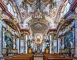Stift Wilhering Kirche Innenraum 05.jpg