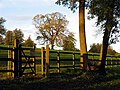 Stile on the Lambourn Valley Way at Welford - geograph.org.uk - 74106.jpg