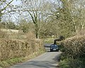 Stock Hill, leaving Gurney Slade - geograph.org.uk - 1217347.jpg