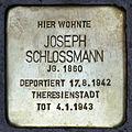 Stolperstein.Hansaviertel.Claudiusstraße 5.Joseph Schloßmann.6922.jpg