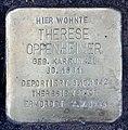 Stolperstein Breite Str 29b (Panko) Therese Oppenheimer.jpg