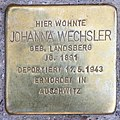 Stolperstein Freisinger Str 5a (Schön) Johanna Wechsler.jpg