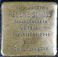 Stumbling stone for Helene Simons (Neumarkt 25)
