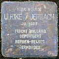 Stolperstein Köln, Ulrike Auerbach (Parkstraße 10).jpg