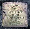 Stolperstein Karl-Marx-Allee 38 (Mitte) Max Neuberger.jpg