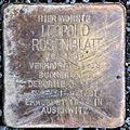 Stolperstein Leopold Rosenblatt (Wetzlarer Straße 31 Butzbach) alt.jpg