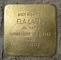 Stolperstein Motzstr 83 Ela Lapis.JPG