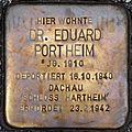 Stolperstein Salzburg, Dr. Eduard Portheim (Makartplatz 6).jpg