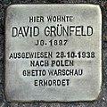 Stolperstein Verden - David Grünfeld (1897).jpg
