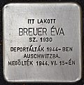 Stolperstein für Eva Breuer (Nyíregyháza).jpg
