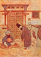 Stories from the Arabian nights - colour plate at page 109.jpg
