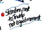 Storyboard of Politics- 2012 Election Outlook (Romney; Standing next to Trump-not a good moment).jpg