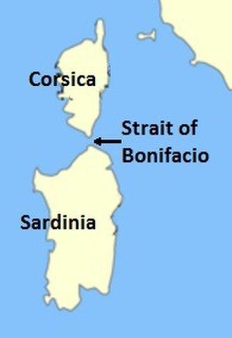 Strait of Bonifacio - Image: Strait of bonifacio 2