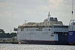 Stralsund, Volkswerft, Fährschiff Copenhagen (2013-07-30) 1, by Klugschnacker in Wikipedia.JPG