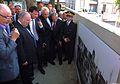 Strasbourg 22 juillet 2012 Manuel Valls inaugure l'allée des Justes.JPG