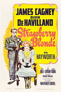 <i>The Strawberry Blonde</i> 1941 American romantic comedy film by Raoul Walsh
