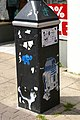 Street art on street furniture - geograph.org.uk - 1611184.jpg