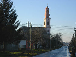 The Orthodox church in Stari Banovci