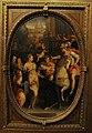 Studiolo, pitture 03 jacopo coppi, Alessandro Magno riceve l'omaggio della famiglia di Dario.JPG