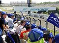 Subaru team supporters at 2014 pokka sapporo 1000km (1).JPG