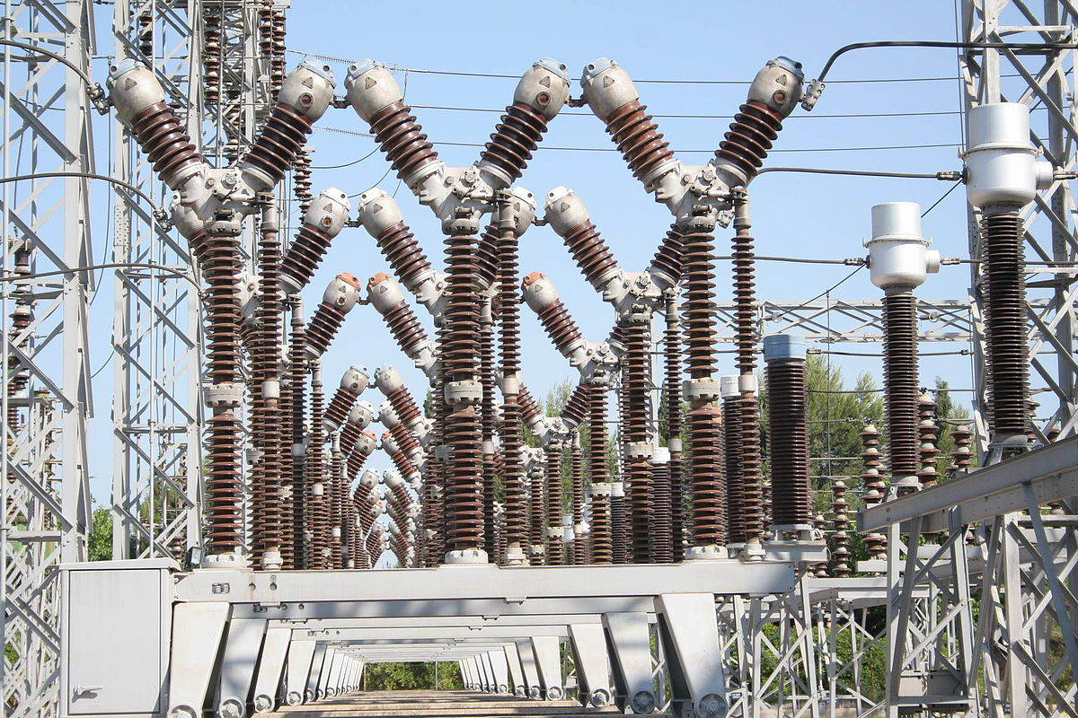 Subestación eléctrica - Wikipedia, la enciclopedia libre