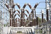 Subestación eléctrica en Alcira.