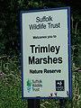 Suffolk Wildlife Trust Sign - geograph.org.uk - 482818.jpg