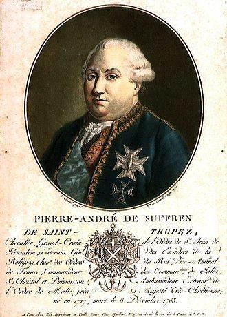 Battle of Cuddalore (1783) - Suffren beats English fleet at Cuddalore. Hughes abandoned the naval blockade and took refuge in Madras.