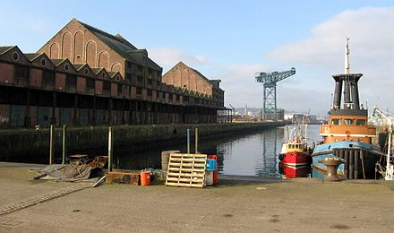 The Sugar Shed dominates the James Watt Dock Sugar Warehouse.jpg