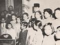 Sukarno with children at Indonesian Embassy in Washington, Presiden Soekarno di Amerika Serikat, p15.jpg
