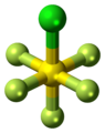 Sulfur chloride pentafluoride molecule ball.png