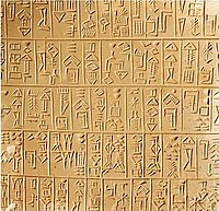 26th century BCE Sumerian document