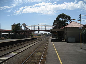 Sunbury, Victoria - Sunbury Railway Station, pre-2012 electrification to Sunbury