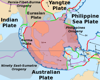Sunda Plate A minor tectonic plate including most of Southeast Asia