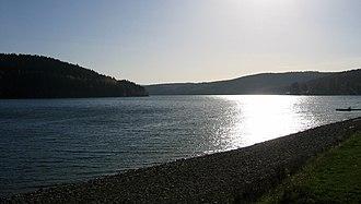 Sorpe Dam - Image: Sundern Sorpesee 3 Asio