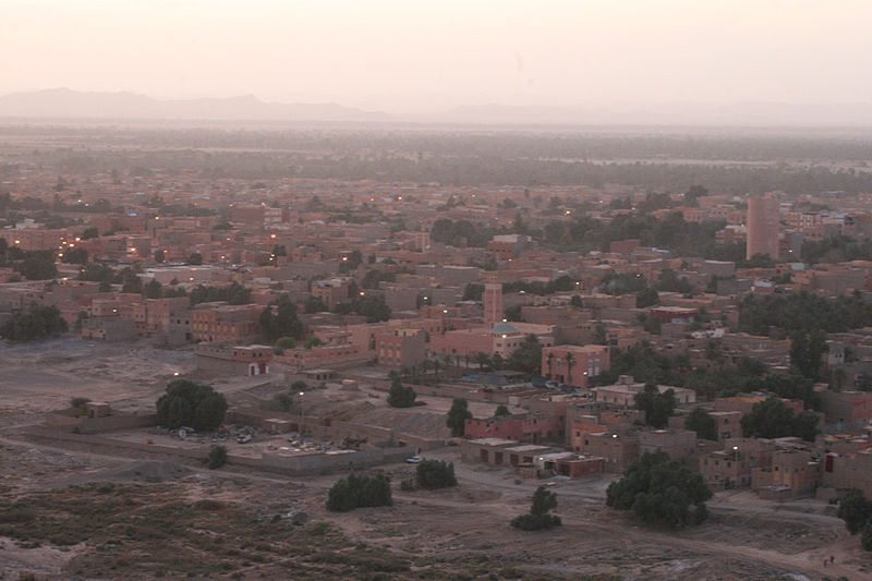 Erfoud Morocco  city photos : Description Sunset Erfoud Morocco