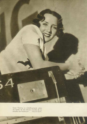 Million Dollar Legs (1932 film) - Susan Fleming