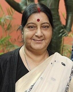 Sushma Swaraj Indian politician