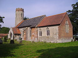 Sustead parish Church, Sunday 31st August 2008 (4).JPG
