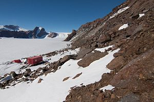 The Norwegian field station Tor in Antarctica