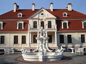 Daugavpils Municipality - Image: Svente manor